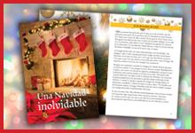 Folleto devocional de Adviento 2021, Una Navidad inolvidable