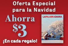Oferta Especial para la Navidad Ahorra $3