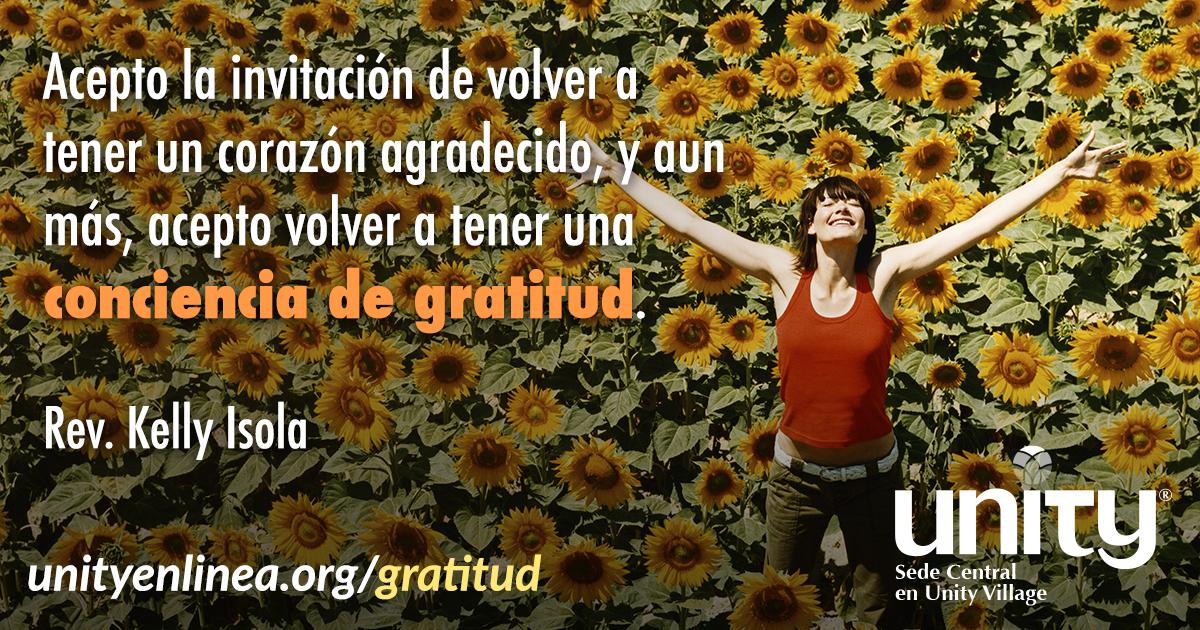 30 Días de Gratitud   Unity Enlinea