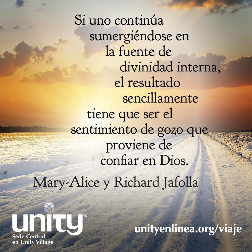 2015 Un Viaje De Descubrimiento Espiritual Unity Enlinea
