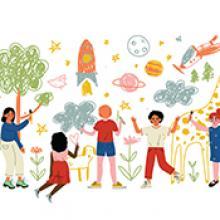 Una oración acerca sel poder de la imaginación, el poder de la imaginación de los niños